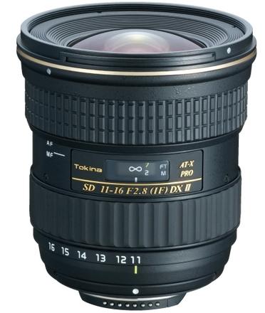 Tokina AT-X 11-16mm f/2,8 116 Pro DX II pro Nikon