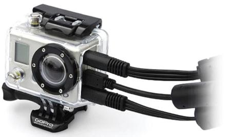 GoPro kryt s otevřeným bokem