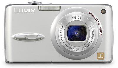 Panasonic DMC-FX01 stříbrný