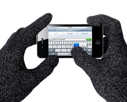 Mujjo rukavice pro dotykový display M/L
