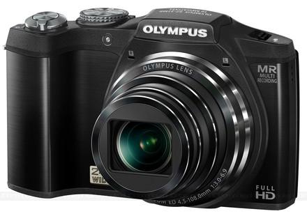 Olympus SZ-31MR černý + 8GB karta + pouzdro Ridge 35!