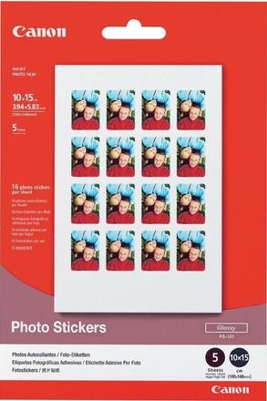 Canon fotopapír PS-101 (samolepicí etikety)