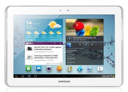 """Samsung Galaxy Tab 2 10.1"""" P5110 WiFi bílý"""
