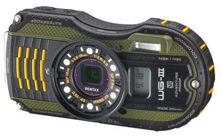 Pentax Optio WG-3 GPS + neopren. pouzdro + 8GB karta + řemínek
