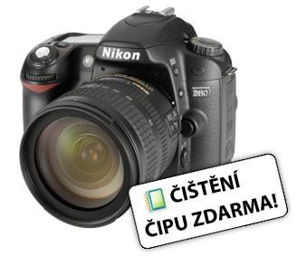 Nikon D80 + 18-70 AF-S DX + 2GB SD karta!