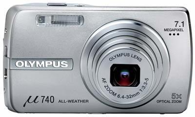 Olympus Mju 740 stříbrný