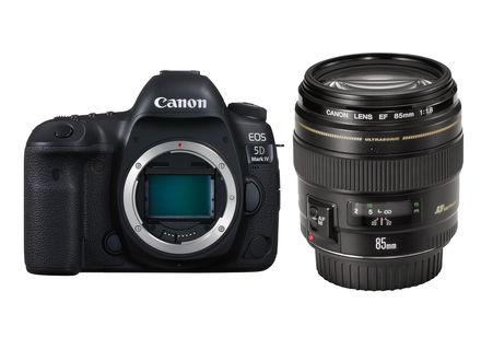 Canon EOS 5D Mark IV + 85 mm f/1,8 USM