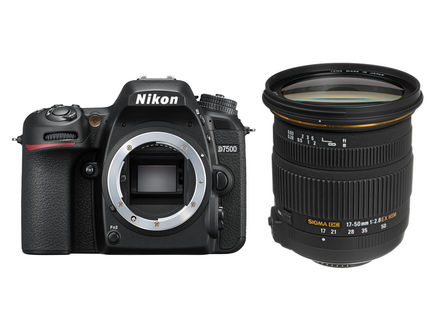 Nikon D7500 + Sigma 17-50 mm f/2,8 EX DC OS HSM