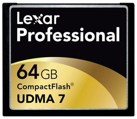 Lexar CF 64GB 800x Professional
