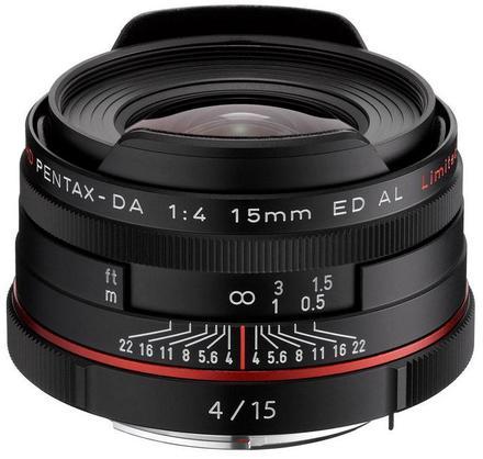 Pentax HD DA 15mm f/4,0 ED AL Limited černý