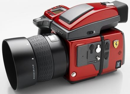 """Hasselblad H4D-40 Ferrari """"Rosso Fuoco"""" kit + 80 mm"""