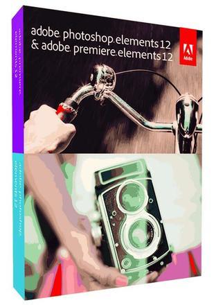 Adobe PhotoShop Elements 12 +  Premiere 12