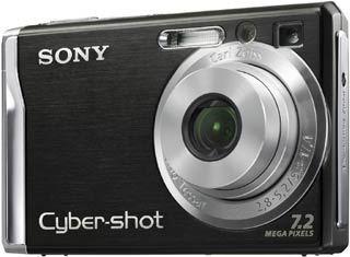 Sony DSC-W80 černý