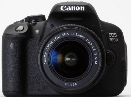 Canon EOS 700D + 18-55 mm IS STM + 55-250 mm IS STM