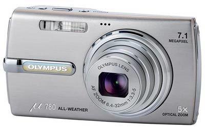Olympus Mju 780 stříbrný + 1GB xD karta!