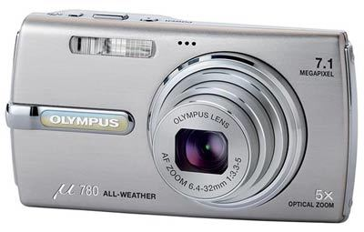 Olympus Mju 780 stříbrný