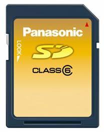 Panasonic SD 1 GB Class 6