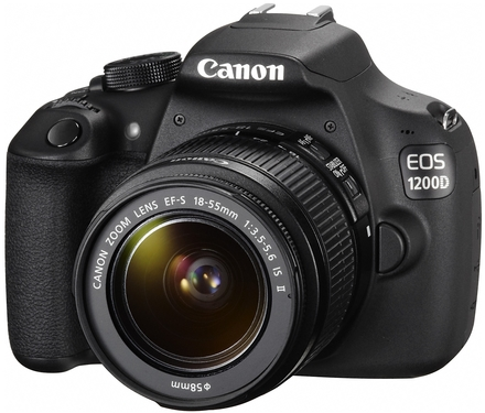 Canon EOS 1200D + 18-55 mm DC III + 75-300 mm DC III