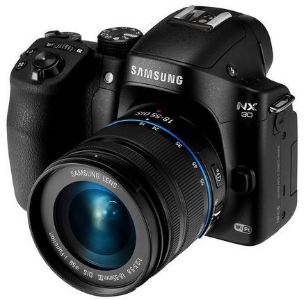 Samsung NX30 + 18-55 mm černý