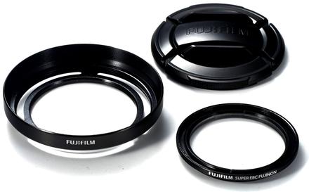 Fujifilm sada ochranného filtru, clony a krytky LHF-X20
