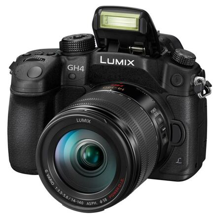 Panasonic Lumix DMC-GH4 + 12-35 mm + 35-100 mm!