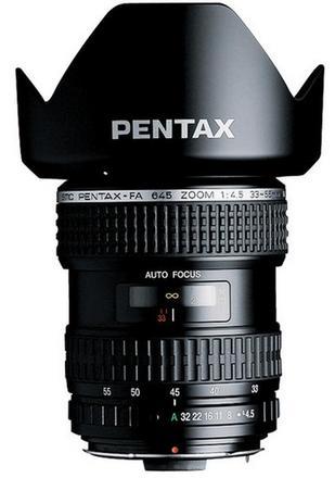 Pentax SMC FA 645 33-55mm f/4,5 AL