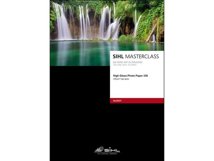 SIHL High Gloss Photo Paper 330 A2/25