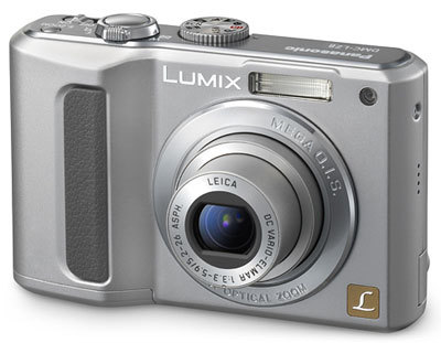 Panasonic Lumix DMC-LZ8 stříbrný + 4ks aku. s nabíječkou + dárek!
