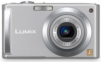 Panasonic Lumix DMC-FS3 stříbrný