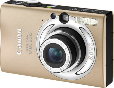 Canon IXUS 80 IS světle hnědý