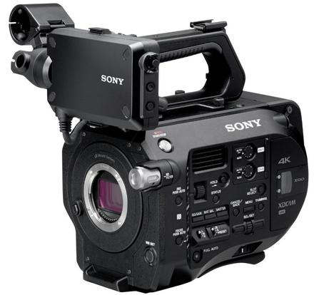 Sony PXW-FS7 tělo