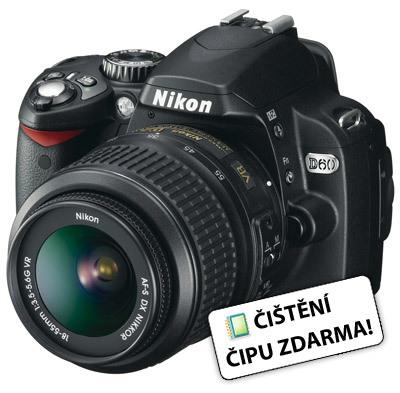 Nikon D60 + 18-55 mm II AF-S DX + 55-200 mm AF-S