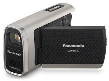 Panasonic SDR-SW20 stříbrný + 4GB SD karta!