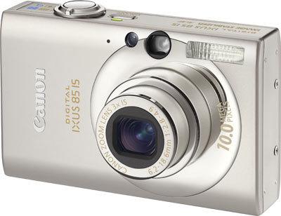 Canon IXUS 85 IS stříbrný