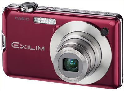 Casio EXILIM S10 červený