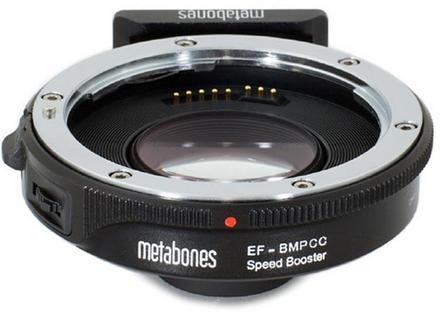 Metabones Speed Booster 0.58x z Canon EF na Blackmagic Pocket Cinema Camera (BMPCC Micro 4/3)