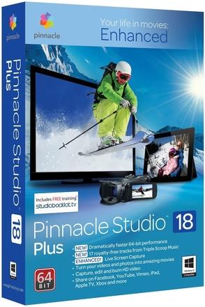 Pinnacle Studio 18 Plus ML