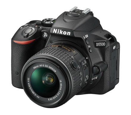 Nikon D5500 + 18-140 mm VR