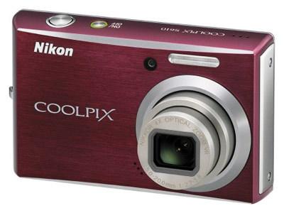 Nikon CoolPix S610 červený