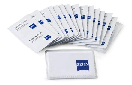 Carl Zeiss čistící ubrousky + utěrka