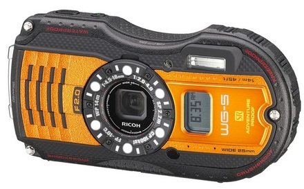 Pentax Ricoh WG-5 GPS oranžový
