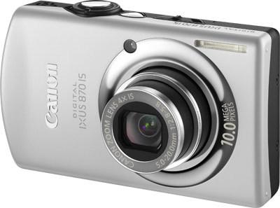 Canon IXUS 870 IS stříbrný + tiskárna MP190