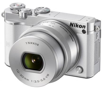Nikon 1 J5 + 10-30 mm VR PD-ZOOM bílý