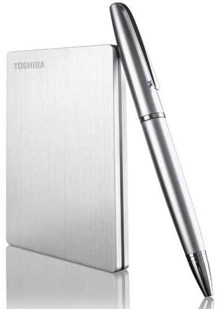 """Toshiba CANVIO SLIM pro MAC 2.5"""" 1TB, USB 3.0 stříbrný"""