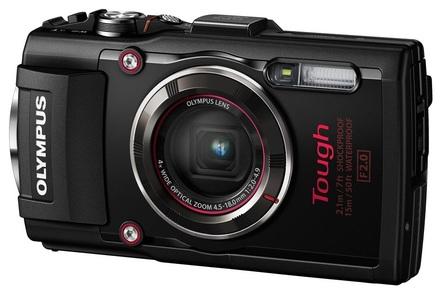 Olympus TG-4 černý + 16GB Ultra + pouzdro + adaptér + PL filtr 40,5mm +  plovoucí poutko!