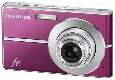 Olympus FE-3010 fialový