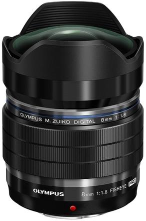 Olympus M.ZUIKO ED 8mm f/1,8 Fisheye Pro