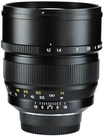 ZY Optics Mitakon Speedmaster 85mm f/1,2 pro Canon