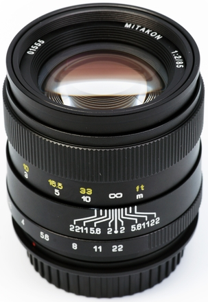 ZY Optics 85mm f/2,0 pro Sony