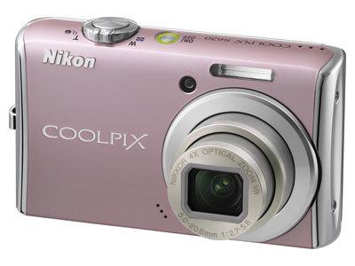 Nikon CoolPix S620 růžový + SD 4GB karta zdarma!